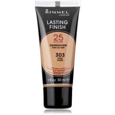 Rimmel London 25 Hour Lasting Finish Liquid Foundation 303 True Nude