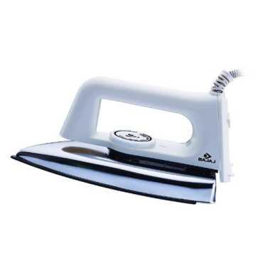 Bajaj Popular 1000W Dry Iron - White