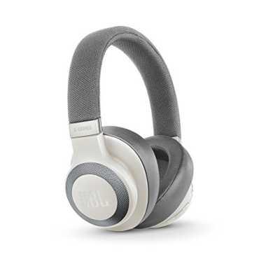 JBL E65BTNC Wireless Over-Ear Active Noise Cancelling Headphones - Blue   Black   White