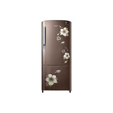 Samsung RR20M272ZD2/RR20M172ZD2/HL/U2 192L 3S Single Door Refrigerator (Star Flower) - Black | Blue | Brown | Red