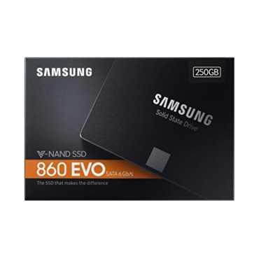 Samsung 860 EVO (MZ-76E250BW) 250GB Internal SSD - Black