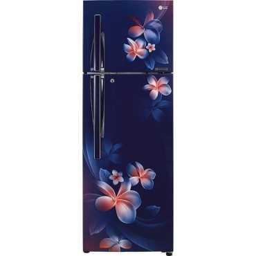 LG GL-T322RBPU 308 L 3 Star Double Door Refrigerator Plumeria