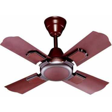 Ramy Rio 4 Blade (600mm) Ceiling Fan - Silver | Bronze