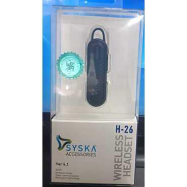 Syska H-26 In the Ear Wireless Headset