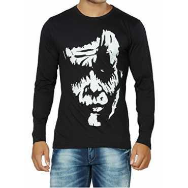 Clothing Men's Cotton T-Shirt (STC98-L_Black)