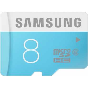 Samsung 8GB MicroSDHC Class 6 (24MB/s) Memory Card - Black