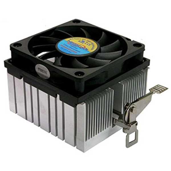 Masscool 5T568S1H3 70mm Sleeve Cooling Fan - Black