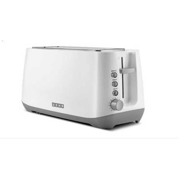 Usha PT3740 4 Slice 1400 W Pop Up Toaster