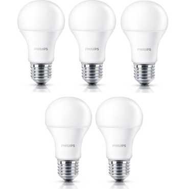 Philips Stellar Bright E27 13W 1300 Lumens LED Bulb Warm White Pack of 5