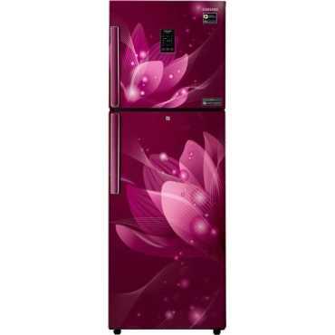 Samsung RT28T3922R8 253 L 2 Star Frost Free Double Door Refrigerator (Saffron Red)