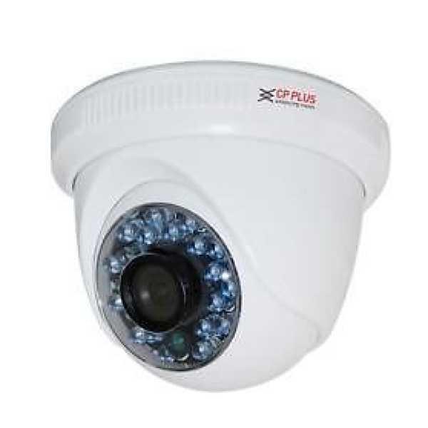 CP PLUS CP-LAC-DC90L25A 900TVL IR Dome CCTV Camera - White