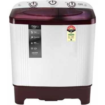 MarQ by Flipkart 6 kg Semi Automatic Top Load Washing Machine (MQSA60H5M)