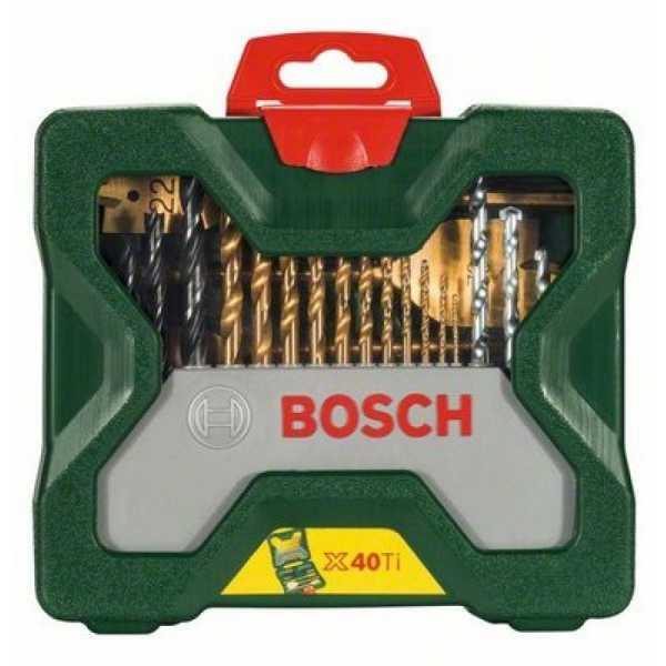 Bosch 2607 019 600 X-line Titanium Set (40 Tools) - Titanium