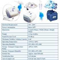 A&D UN-014 Heavy Duty Compressor Nebulizer