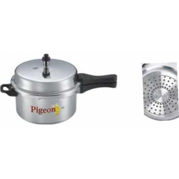 Pigeon 118 Calida Aluminium 7 5 L Pressure Cooker Induction Base