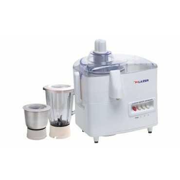 Lazer Sensation 500W Juicer Mixer Grinder - White