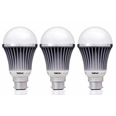 Syska SSK 7W B22 LED Bulb Cool White Pack of 3