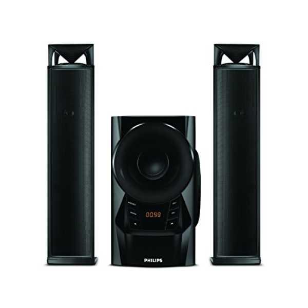 Philips MMS6200/94 2.1 Multimedia Speaker System