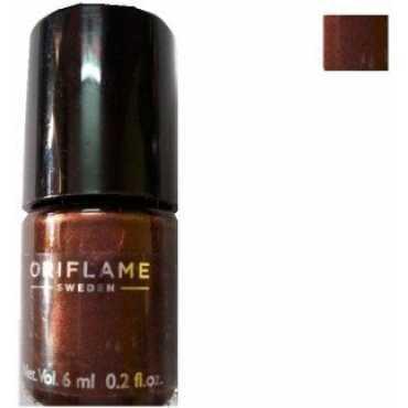 Oriflame Pure Colour Mini Nail Polish (Burgundy Wine) - Red