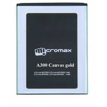 Micromax Canvas Gold A300 2300mAh Battery - Black