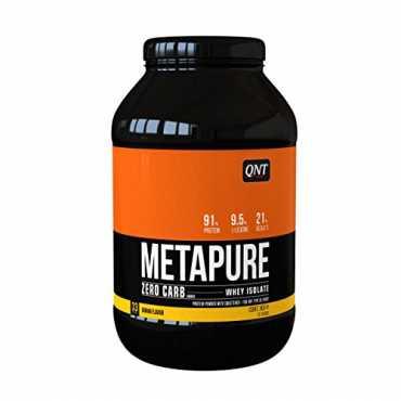 Qnt Metapure Zero Carb Whey Isolate Protein (1kg, Banana)
