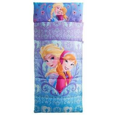 Disney Frozen Anna And Elsa Sleeping Bag