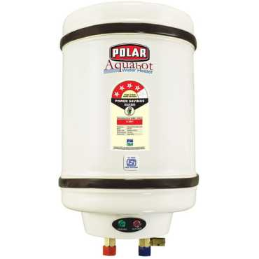 Polar Aquahot  25L Storage Water Geyser - White