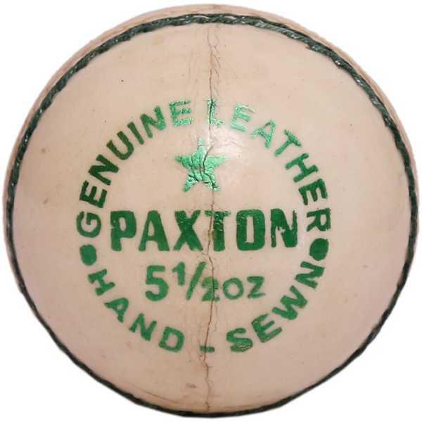 Avm Paxton Cricket Ball - Red
