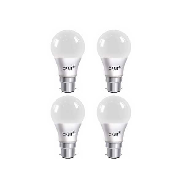Orbit Eco Series 9W B22 LED Bulb (Cool Day Light, Pack of 4)