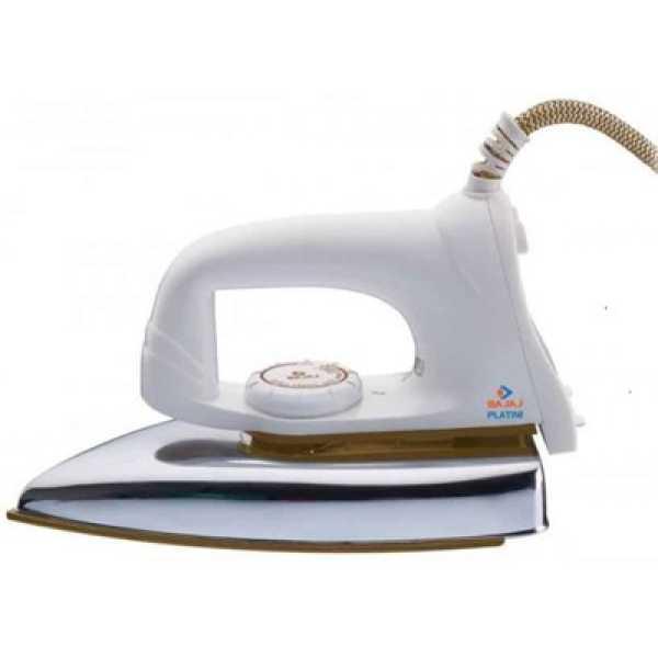 Bajaj Popular VX 1000W Dry Iron - White