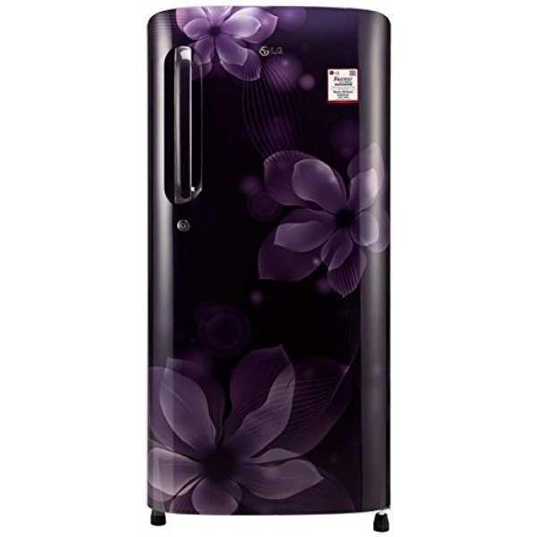 LG GL-B201APOX.APOZEBN 190L 4S Single Door Refrigerator  (Purple Orchid)