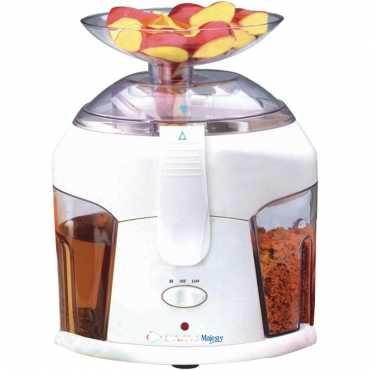 Bajaj Majesty 500W Juice Extractor - White