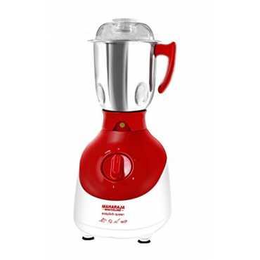 Maharaja Whiteline Easylock Queen 750W Mixer Grinder (3 Jars) - Red