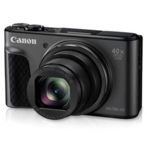 Canon Powershot SX730 HS Camera - Black