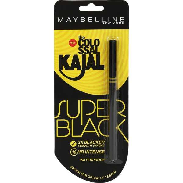 Maybelline New York Colossal Kajal (Super Black)