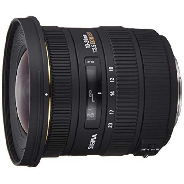 Sigma 10-20mm f/3.5 EX DC HSM Zoom Lens (For Sony DSLR) - Black