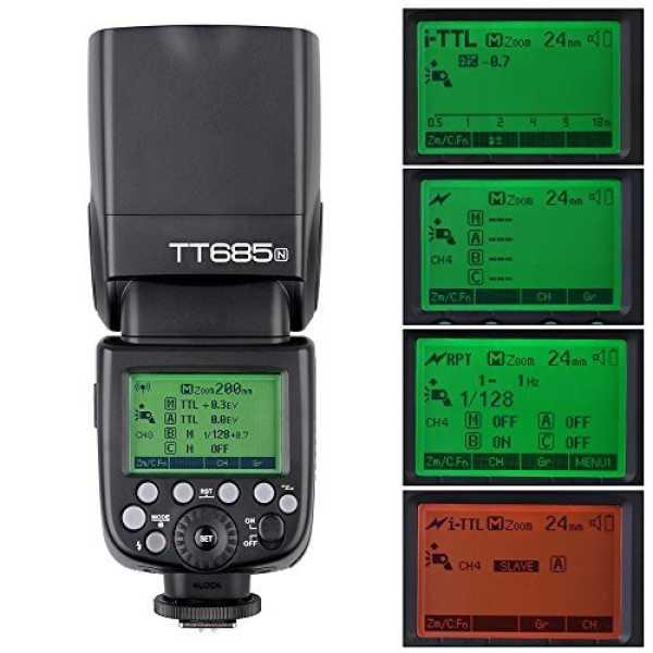 Godox TT685N i-TTL Wireless Speedlight Flash For Nikon
