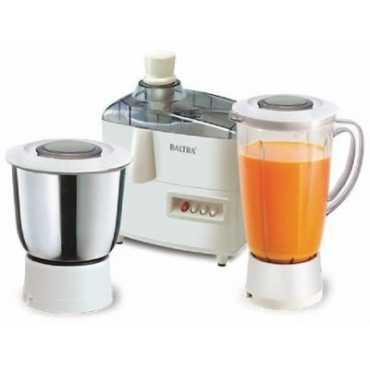Baltra Strom 500W Juicer Mixer Grinder - White