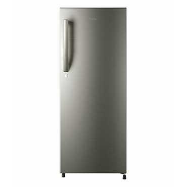 Haier HRD-1954BS-R 195L 4S Single Door Refrigerator - Silver