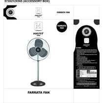 Kent Appliances  Farrata 3 Balde (500mm) Pedastal fan