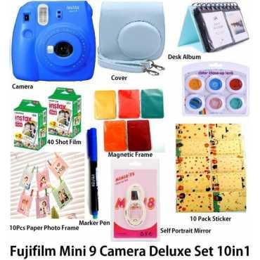 Fujifilm Mini 9 Deluxe Instant Camera - Cobalt