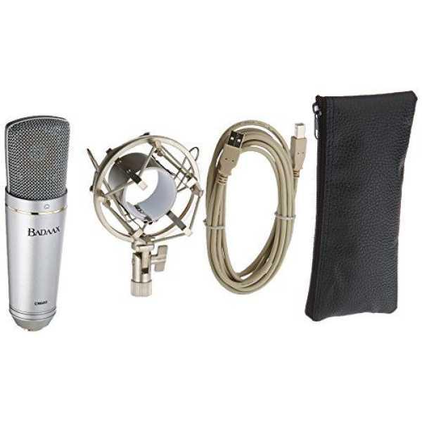 BadAxx 904-UM-600 Studio USB Cardioid Condenser Microphone