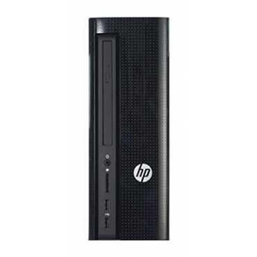 HP Slimline 260-P020IL (Core i3 6th Gen, 4GB, 1TB, DOS) Tower Desktop - Black