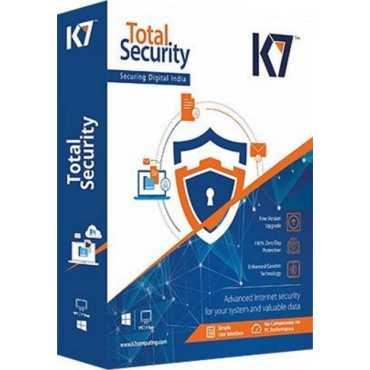 K7 Total Security 2018 10 PC 1 Year Antivirus