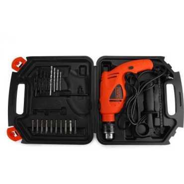 Black & Decker HD500K-IN Power & Hand Tool Kit(27 Tools)