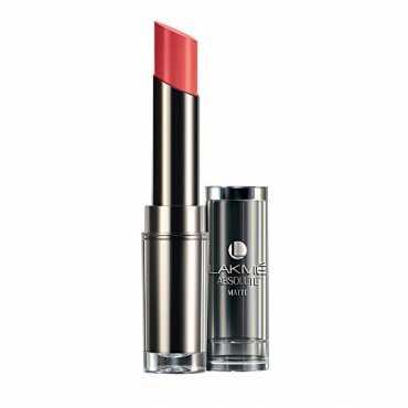Lakme  Absolute Matte Lipstick (Peach pout)