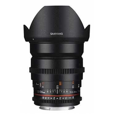 Samyang SYDS24M-N 24mm T1.5 Cine Wide Angle VDSLR II Lens (For Nikon) - Black