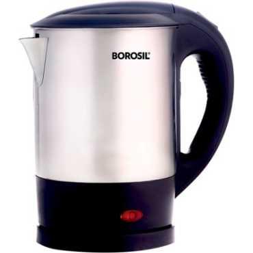 Borosil EVA 1 Liter Electric Kettle - Silver