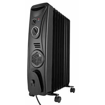 Usha 3511F 2300W Oil Filled Radiator Room Heater - White | Black