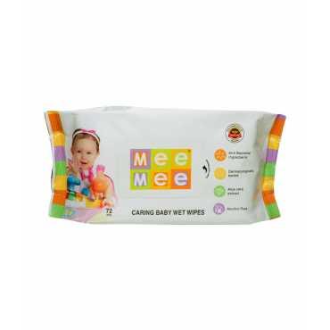 Mee Mee Aloevera Baby Wet Wipes 72 Pieces